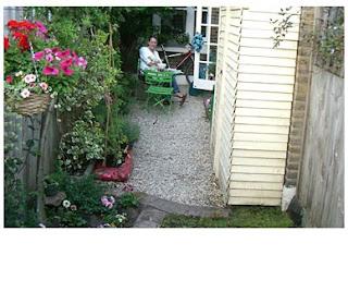 the anas sur le jardin