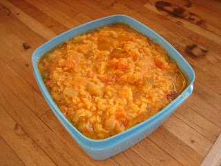 sausage lentil hotpot