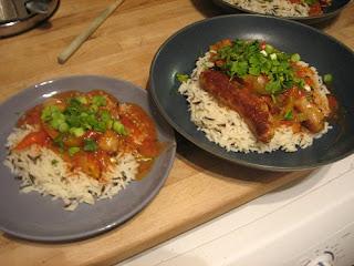 jamie's southern sausage stew