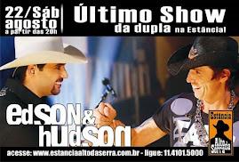 22-08-2009-Estância Alto da Serra-Despedida-Edson & Hudson