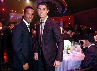 ronaldinho and c ronaldo