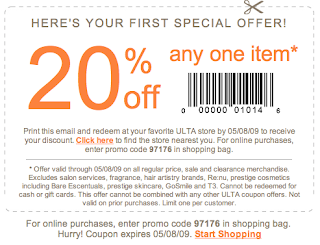 Ulta Coupon 2011