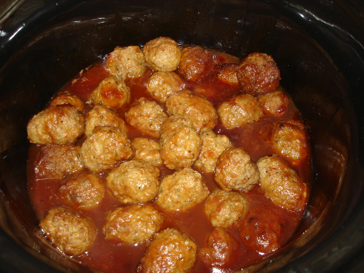 What's cookin', Mom?: Slow cooker barbecue meatballs