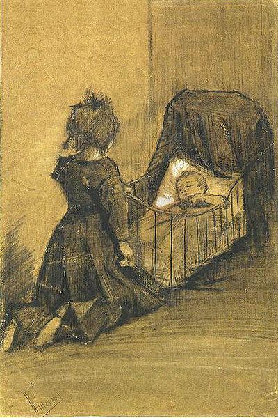 imagen cuadro nino llorando: