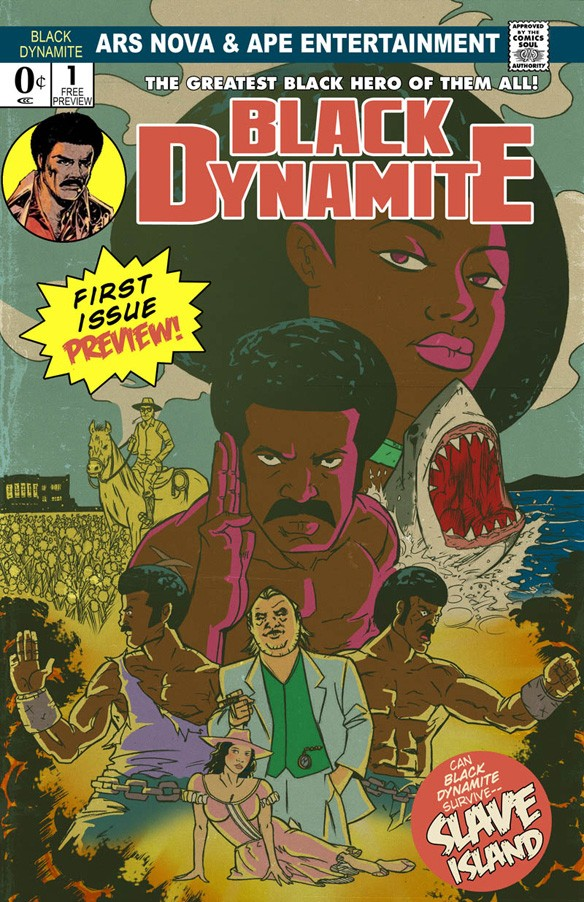 Black Dynamite Coming To Adult Swim & Comic Book Stores