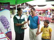 Exhibition at Tenom, Sabah.