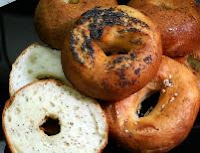 sliced gluten free bagels