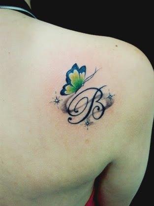 Tatuagem feminina: Borboleta