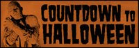 Countdown Halloween by visiting blogs