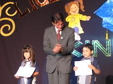 Premiación a los alumnos integrales de Kinder A y B