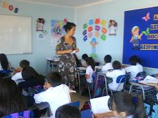 Profesora Paulina Arancibia...