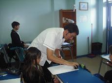 Cada profesor se da el tiempo para verificar los avances....