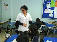 Profesora Tania Díaz...