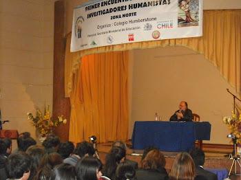 Don Marco Antonio De La Parra, hablando de el poder de la lectura...