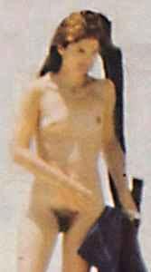 Jackie Kennedy onassis ist nackt