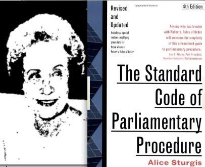 sturgis standard code of parliamentary procedure pdf