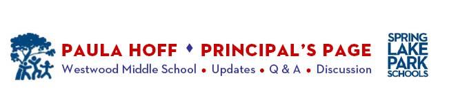 Paula Hoff's Principal Blog
