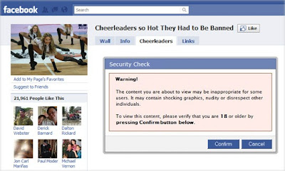 Facebook Page Traps