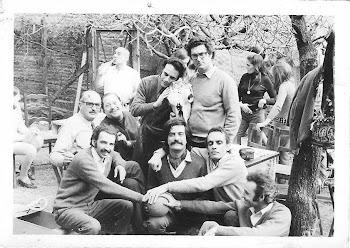 Con integrantes primer Grupo Cine Liberación