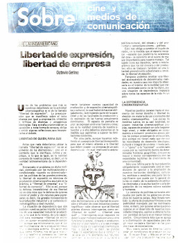 Publicación mimeo SOBRE CINE