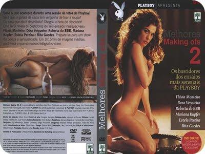 folders DVD Playboy Melhores Making ofs Vol.02