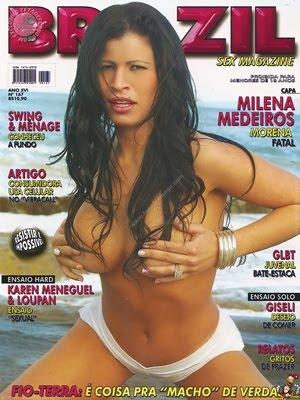 Milena Medeiros – Revista Private – Setembro 2010
