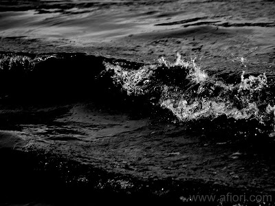 Maria-Thérèse Andersson afiori Black Sea Ocean Dark Fine art photography konstfoto konstfotograf Härnösand hav beach strand wave våg