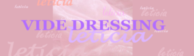 LETICIA - son vide dressing -