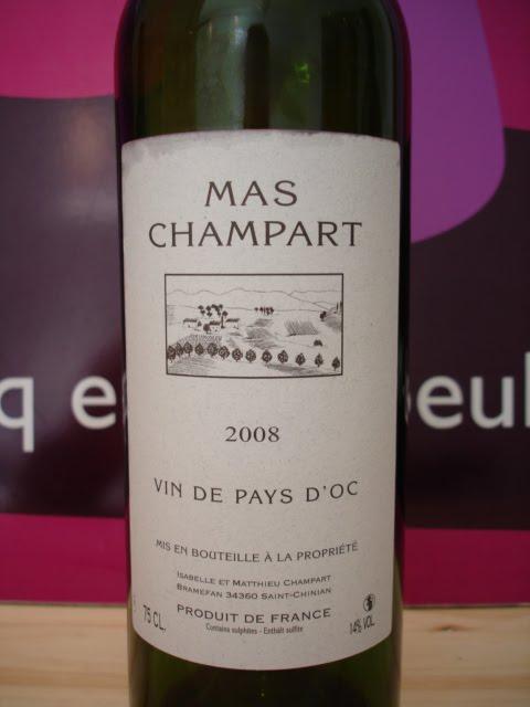 Mas Champart Vin de Pays d Oc