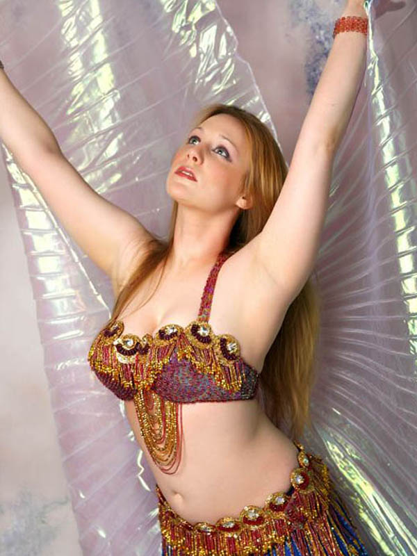 naked arab belly dance