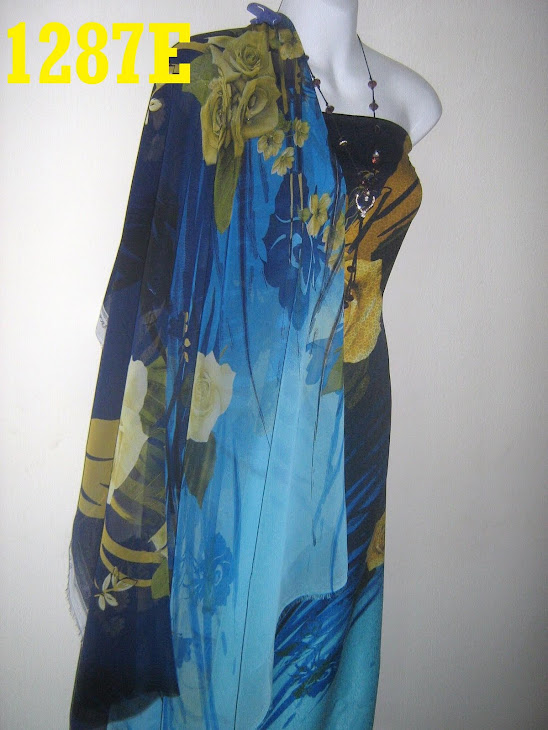 CMO   1287E: CHIFFON MATCHING ONE MALAYSIA, 2M+2M, BHG BAJU JARANG DAN PERLU LINING