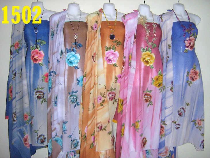 CDD 1502: CHIFFON D&#39;MONALISA ITALIAN DIGITAL, 4 METER, 5 COLORS