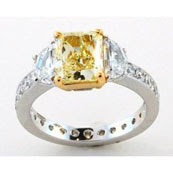 Image of 10th most expensive gold and diamond ring jewelry
