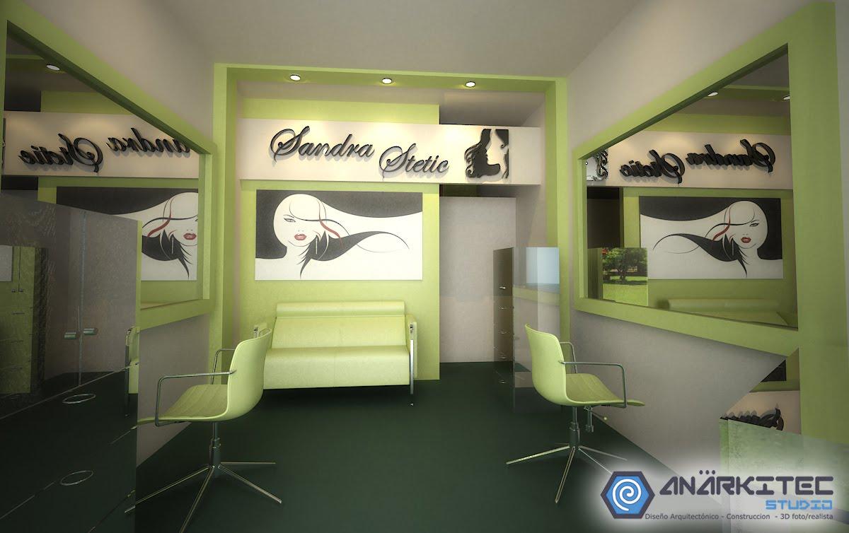 Anarkitec remodelacion peluqueria - Diseno peluqueria ...