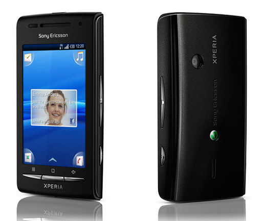 Sony Ericsson XPERIA X8 is going to have a nice piano black version in