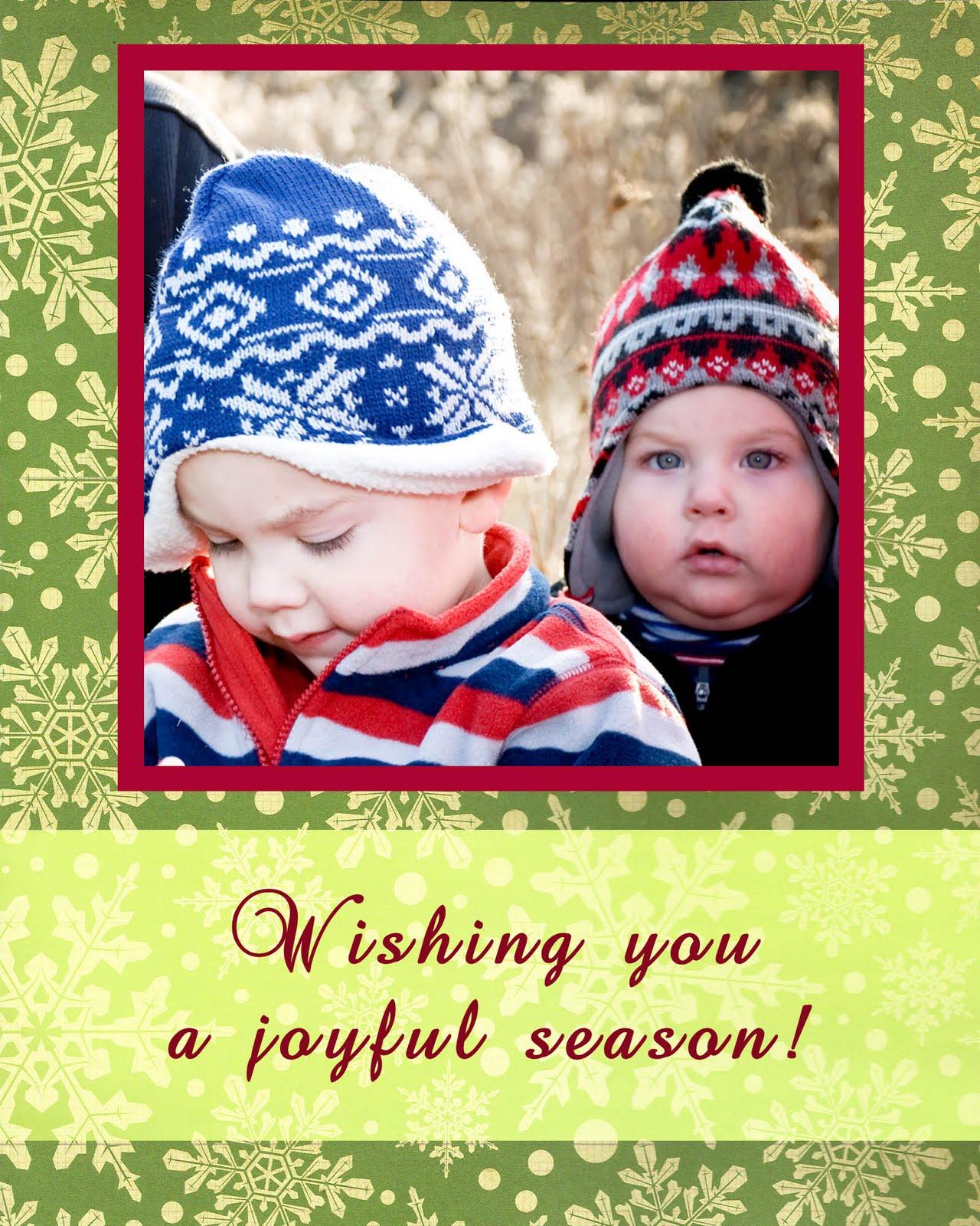Oh Joy Photography FREE Holiday Card Templates Columbus