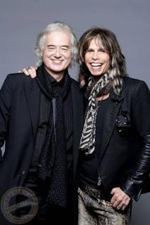 Steven Tyler Jimmy Page