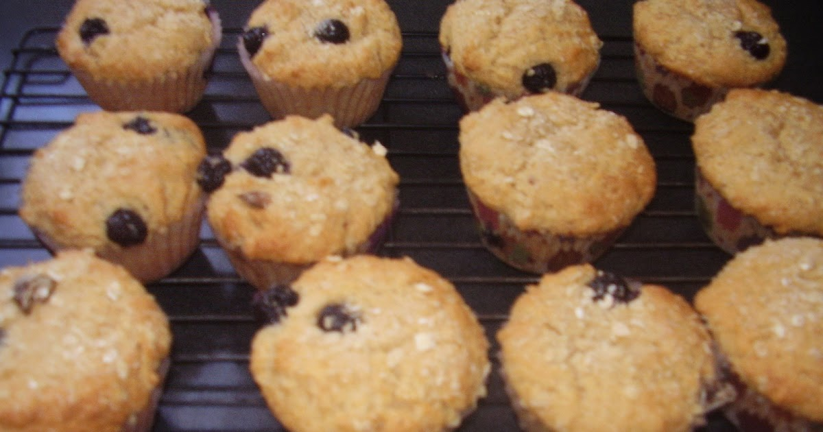On Blueberry Hill - Tana's Oat & Blueberry Muffins and other sweet ...