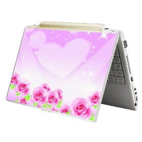 Pink Skin Sticker Laptop Notebook Rose