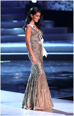 Rima Fakih in Evening Gown
