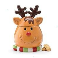Reindeer Christmas Cookie Jar