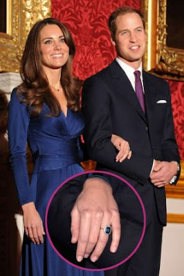 Prince William and Kate Middleton Engagement Ring Replica