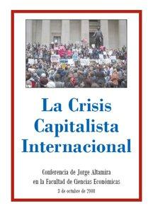 Conferencia de Jorge Altamira en la UBA, 3 de Octubre de 2008