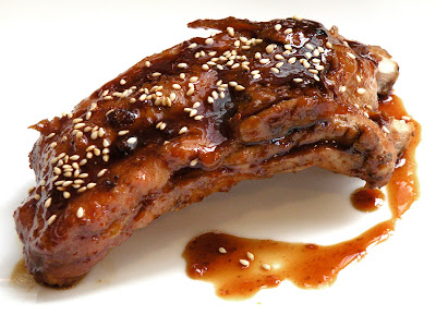 The Palate Pleaser: Sesame Orange Glazed Pork Ribs