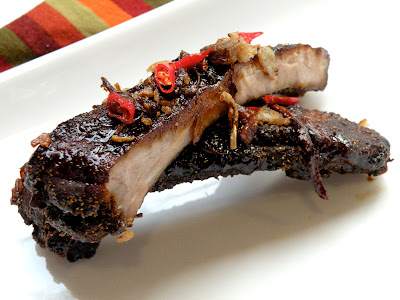 The Palate Pleaser: Indonesian Style Baby Back Ribs