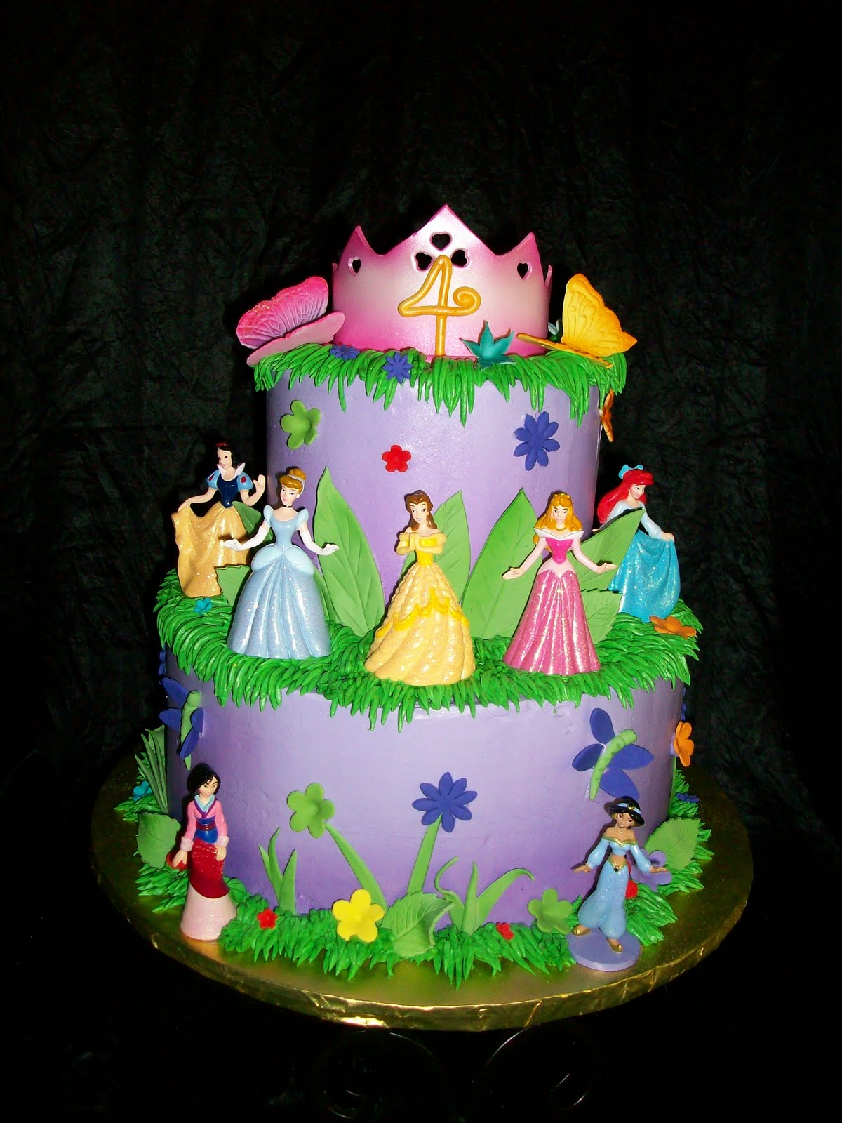 Disney Cake Designs Princesses : PRINCESS BIRTHDAY CAKE