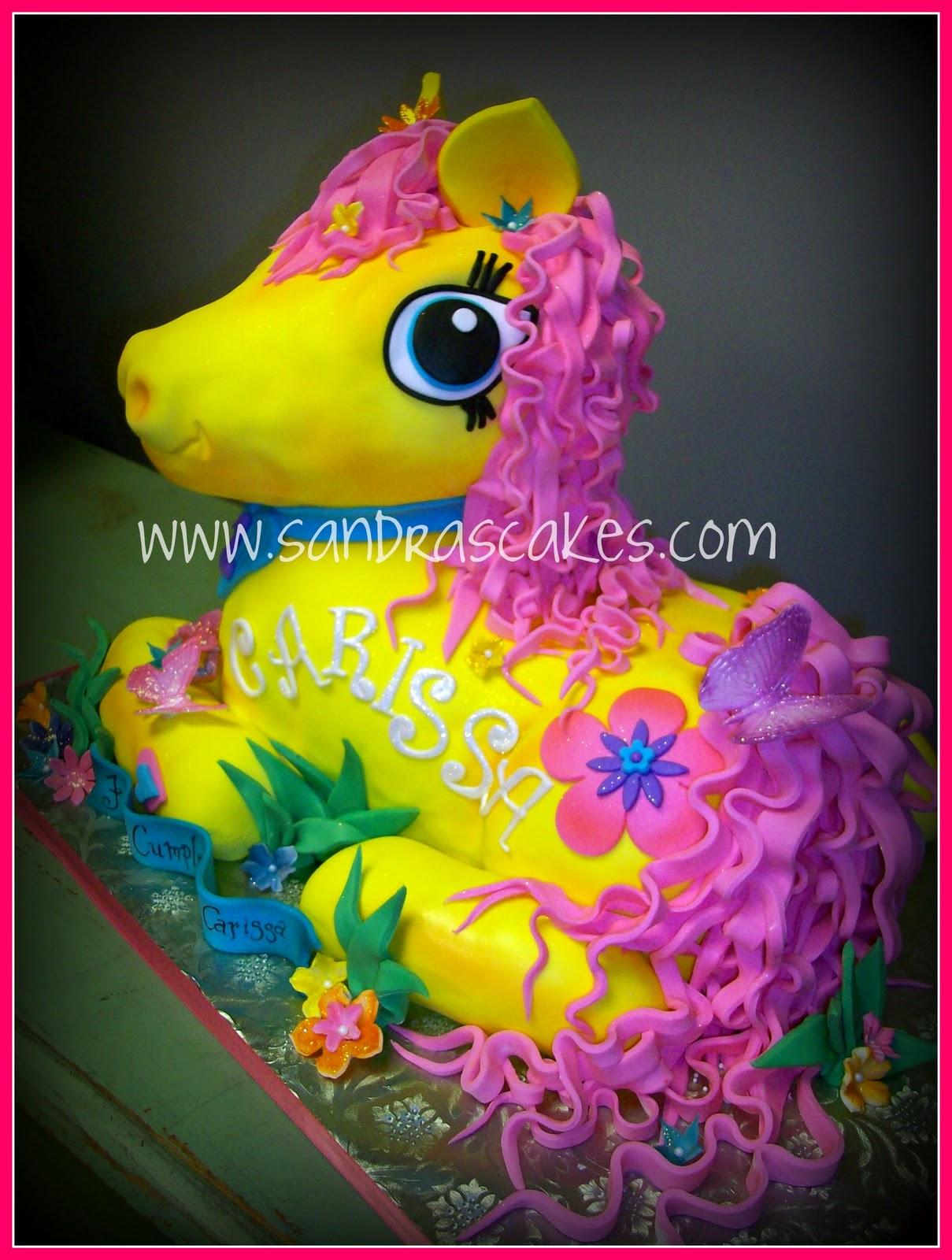 Sandras Cakes : My Little Pony Birthday Cake