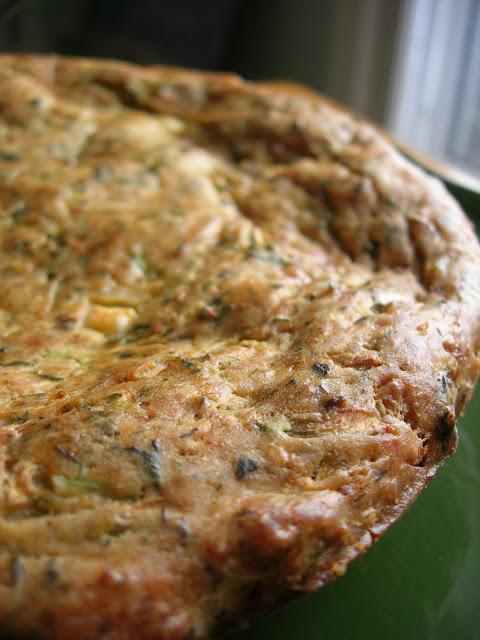 Oven Baked Zucchini Fritters (Fırında Kabak Mücver)