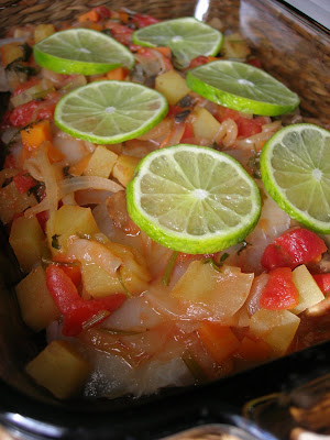 refers to a group of dishes that are cooked with onion Oven Baked Fish Pilaki (Fırında Balık Pilâki)