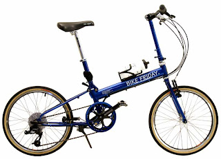 Bike Friday New World Tourist folding bike